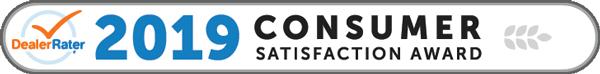 Dealer Rater 2019 Consumer Satisfaction Award